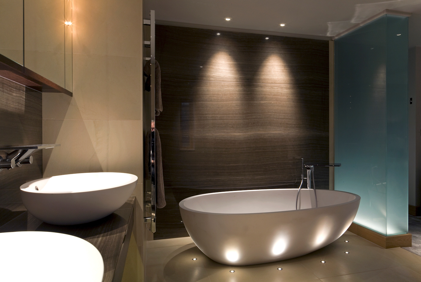 Bathroom Led Lights The Great Advantages Of Led Bathroom Lighting Bathroom Ideas White And Orange Combination Lamps Design